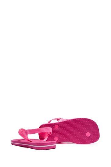 Baby Girls Pink Flip Flops