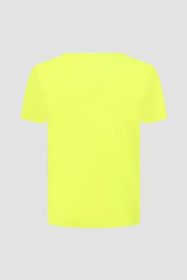 Tommy Hilfiger Boys Lime Cotton T-Shirt