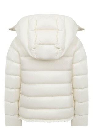 Girls Ivory Padded Jacket