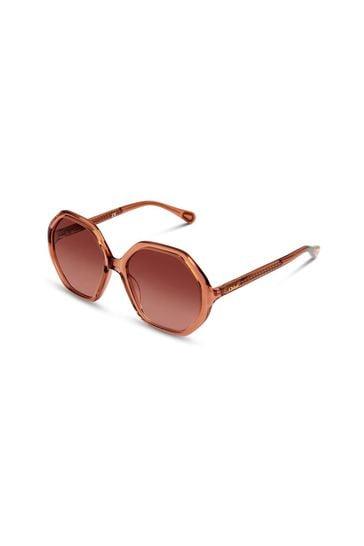 Girls Orange Sunglasses