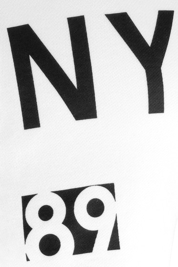 DKNY Girls White Cotton Shorts