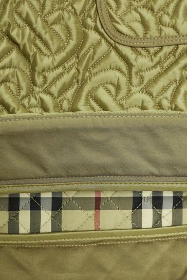 Girls Green Pocket Skirt