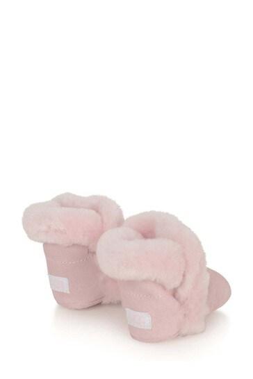 Baby Girls Pink I Lassen Booties