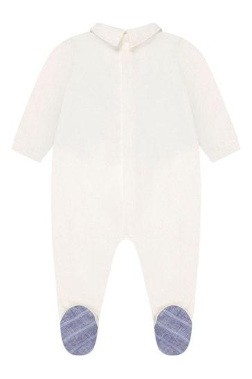 아기 소년 블루 베이비 성장