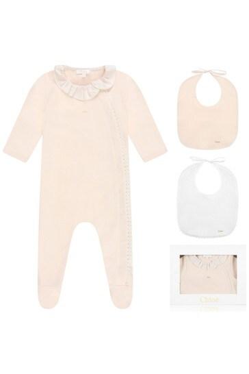 Girls Cotton Babygrow Gift Set