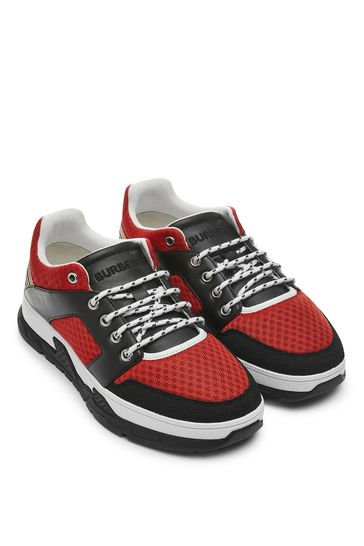 Kids Red Trainers