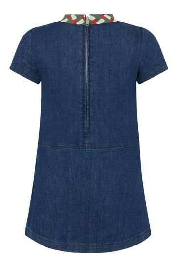 Girls Blue Denim Dress