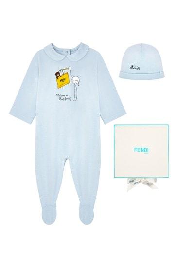 Baby White Cotton Gift Set