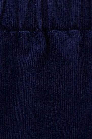 Baby Girls Navy Corduroy Trousers