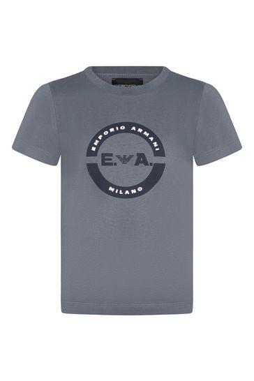 Boys Grey T-Shirt Set