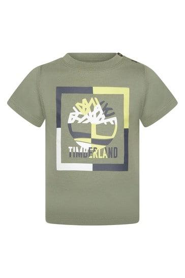 Baby Green Cotton T-Shirt