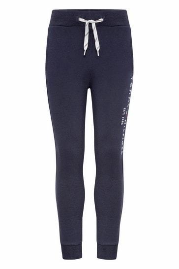 네이비 오가닉 코튼 에센셜 스웨트팬츠