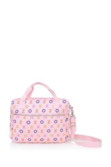 Baby Pink Logo Changing Bag
