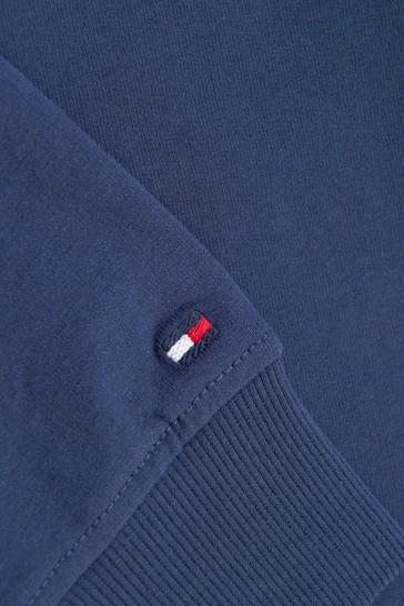 Tommy Hilfiger Boys Navy Cotton Sweater