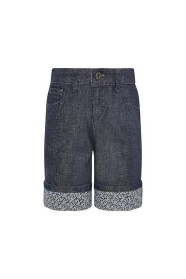 Emporio Armani Boys Navy Shorts