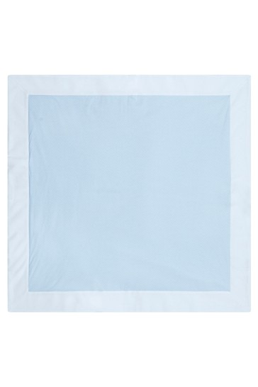 Baby Boys Blue Cotton Blanket