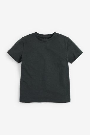 Charcoal Crew Neck T-Shirt (3-16yrs)