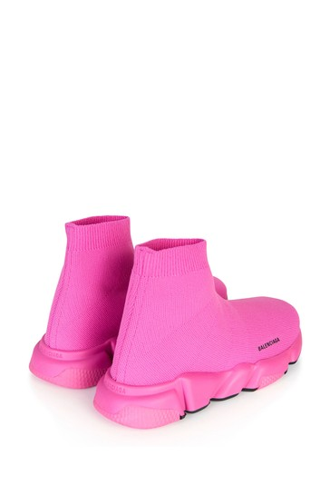 Girls Pink Speed Trainers
