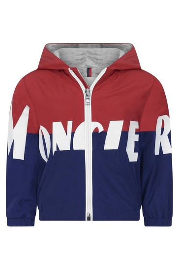 Baby Boys Red & Blue Kruth Jacket