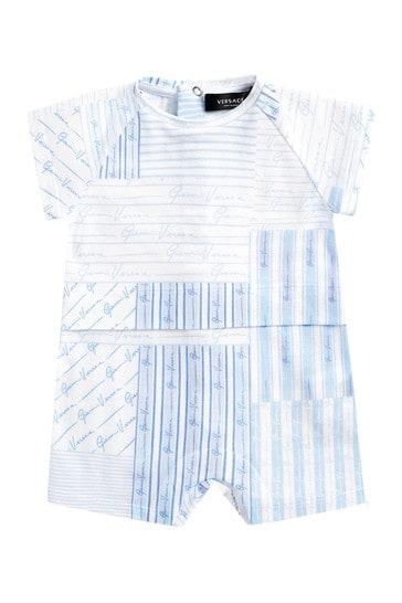 Blue Cotton Shortie