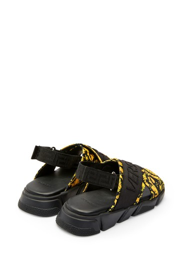 Girls Black Sandals