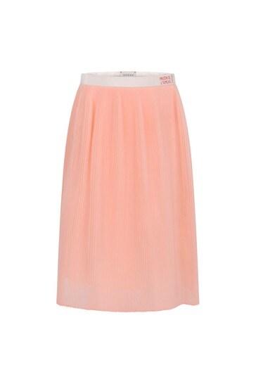 Girls Pink Organza Skirt