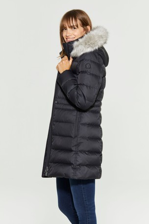 Women Clothing Tommy Hilfiger NEW TYRA Down coat black