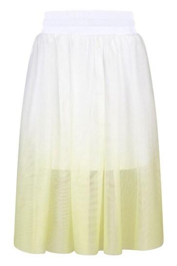 DKNY Girls Yellow Skirt