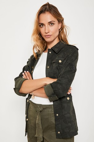 half off clearance prices save up to 80% Buy Mint Velvet Camo Utility Shacket from Next Ireland
