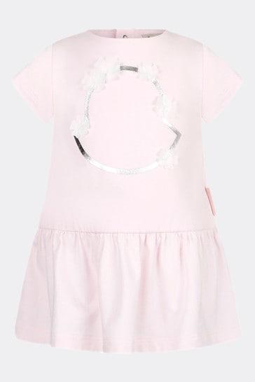 Moncler Baby Girls Pink Cotton Dress