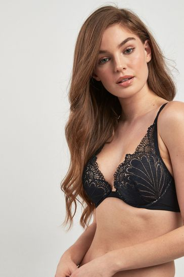 Buy Wonderbra® Refined Glamour Triangle Lace Push Up Bra