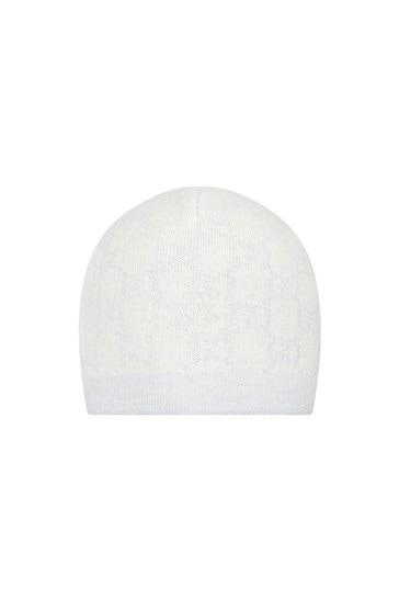 Baby Boys Blue Wool Hat