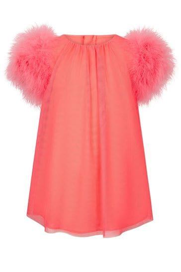 걸스 핑크 드레스