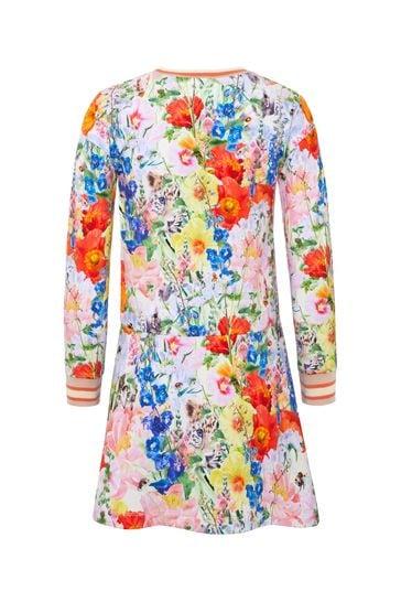 Girls Multicoloured Cotton Dress