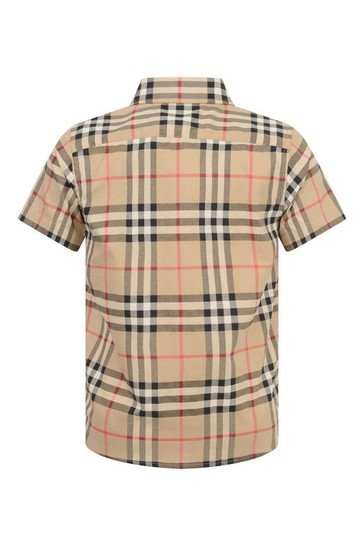 Boys Vintage Check Fredrick Shirt