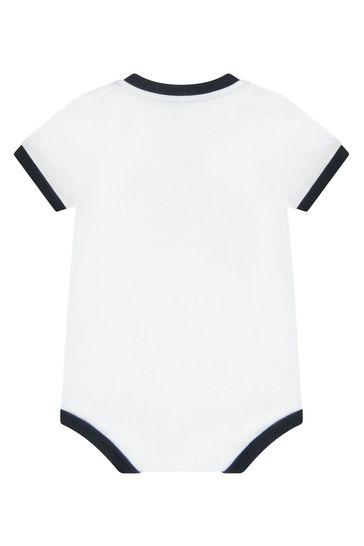 Dolce & Gabbana Baby Boys White Cotton Bodysuit