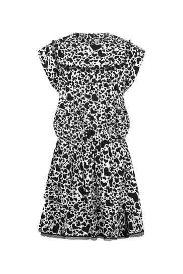 소녀 블랙 드레스
