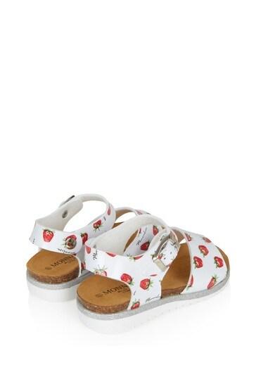 Girls White Sandals