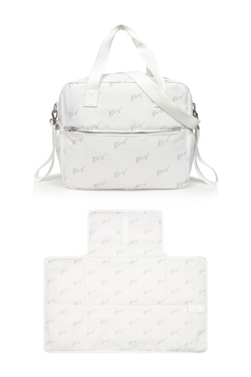 Baby Kids White Changing Bag