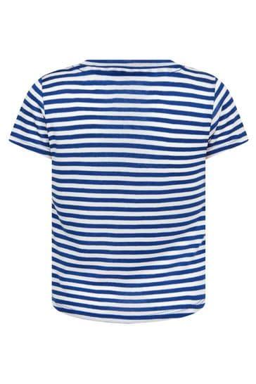 걸스 네이비 티셔츠