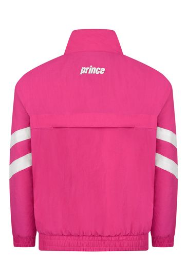Kids Pink Baseline Track Jacket