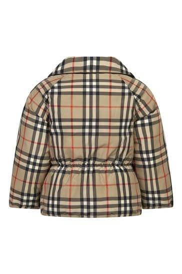 Baby Girls Beige Jacket