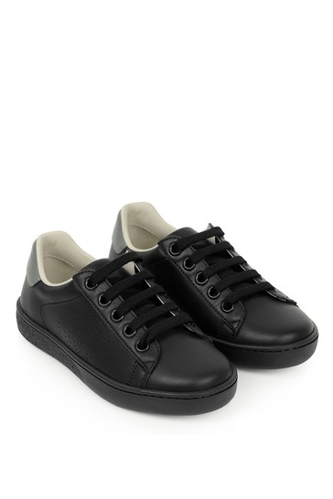 Leather New Ace Lace-Up Trainers