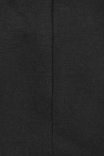 Unisex Black Cotton T-Shirt