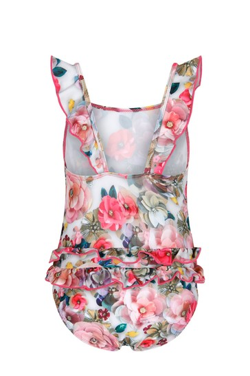 Molo Girls Pink Swimsuit