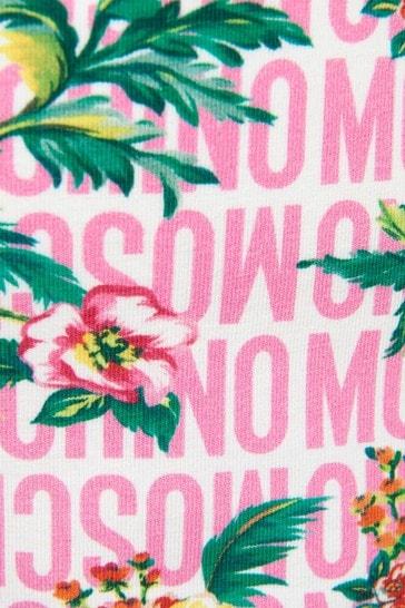 Girls Pink Cotton Sleeveless T-Shirt