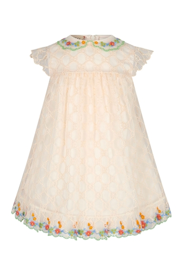 Baby Girls Cream Dress