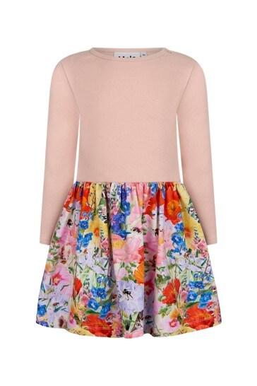 فستان قطن ألوان متعددةللبنات البيبي