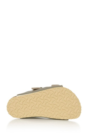 Girls Gold Arizona Sandals