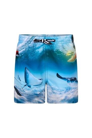 Boys Blue Swim Shorts